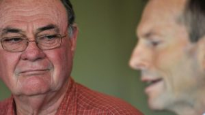 Warren Entsch and Tony Abbott