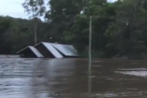 House flooded