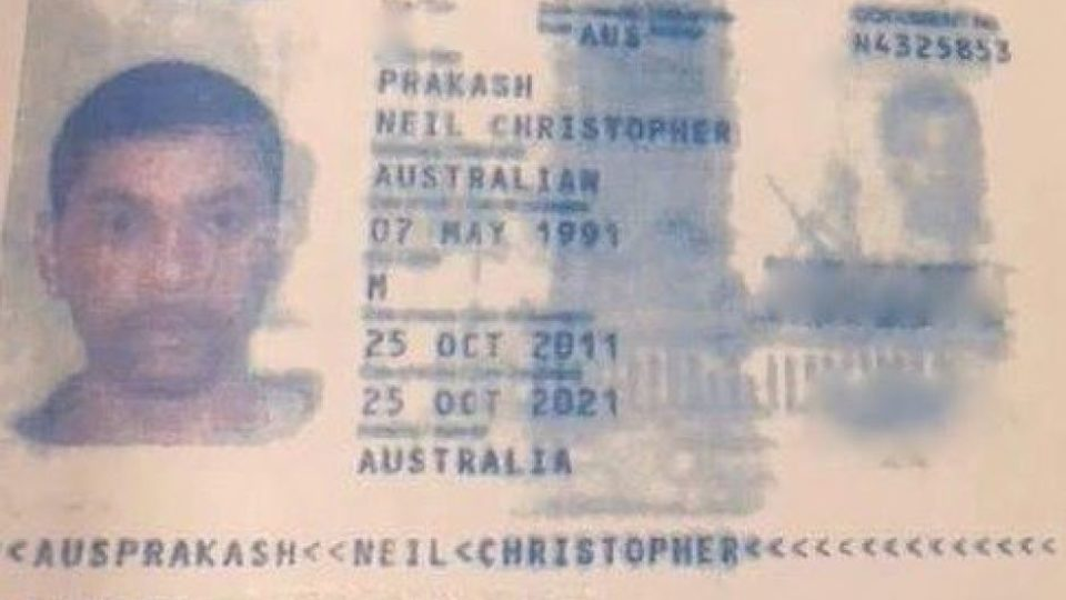 Neil Prakash passport