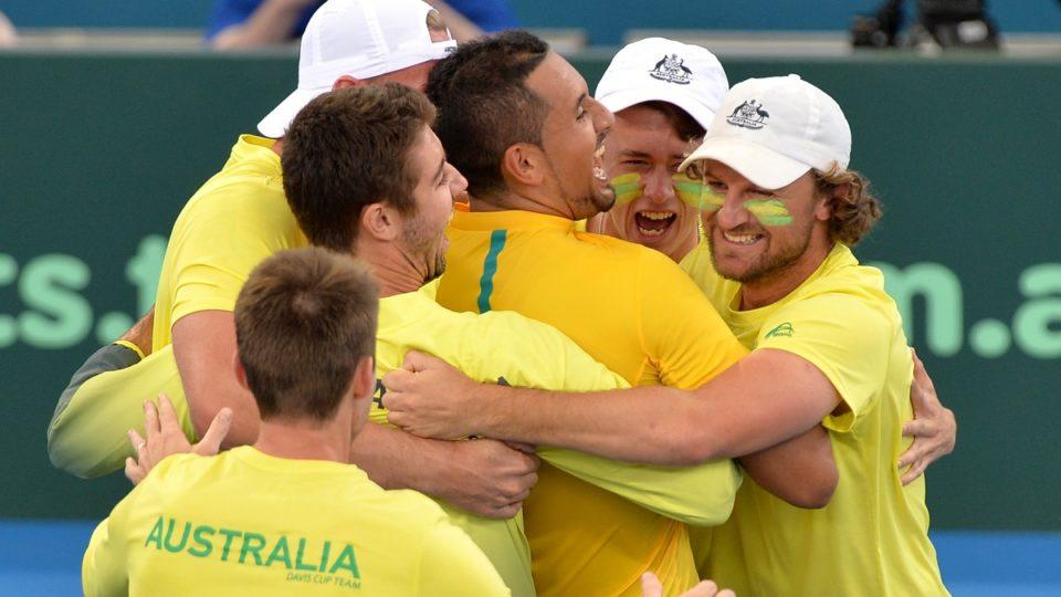 Australia tennis team