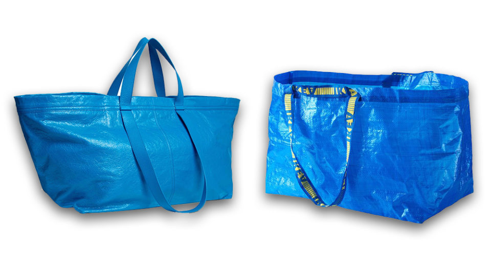 a064184c2b5a Balenciaga s new  2610 handbag looks like an Ikea shopping bag