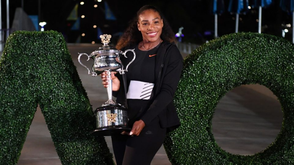 Serena Williams appears to hint at pregnancy with '20 weeks' message