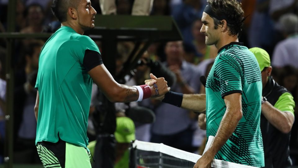 Roger Federer Edges Nick Kyrgios In Miami Open Thriller
