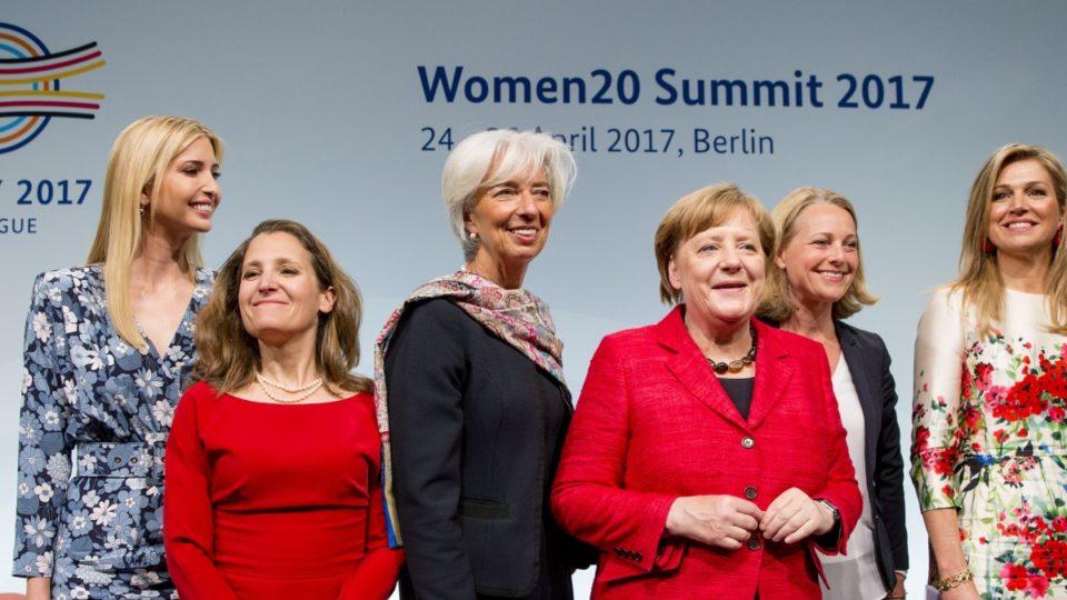 Ivcanka Trump at W20 Summit