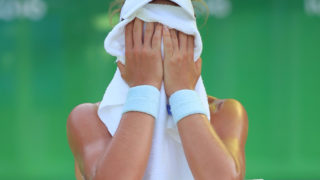 Britain's Johanna Konta was left in tears after Ilie Nastase's on-court abuse.