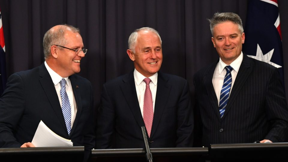 Morrison, Turnbull and Cormann