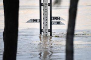 Rockhampton flood peak