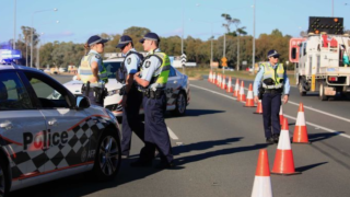 Two teenagers were arrested on the Monaro Highway. Photo: ABC News/Tamara Penniket