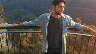 Zeeshan Akbar was stabbed while working at a Queanbeyan petrol station. PHOTO: ABC News: Supplied.