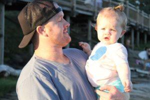 Shane Wescombe and daughter Gabby