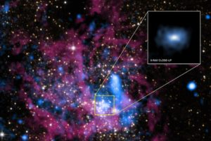 black hole in the Milky Way's centre