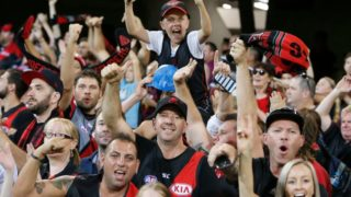 Bombers barrackers had plenty to cheer about  as a rejuvenated and relentless team made it two in a row.