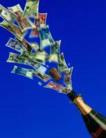 champagne money
