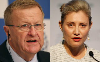 John Coates and Fiona de Jong