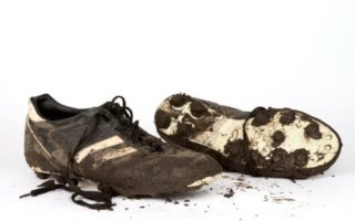 Worthless as old boots, that's how many athletes feel when their playing days are done.