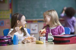 kids eating