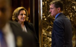 K T McFarland and Michael Flynn