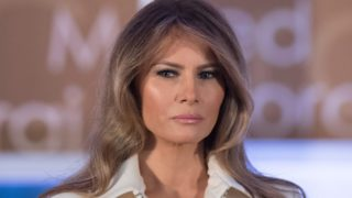 Melania Trump's first official White House portrait is here.