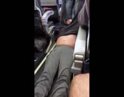 passenger dragged