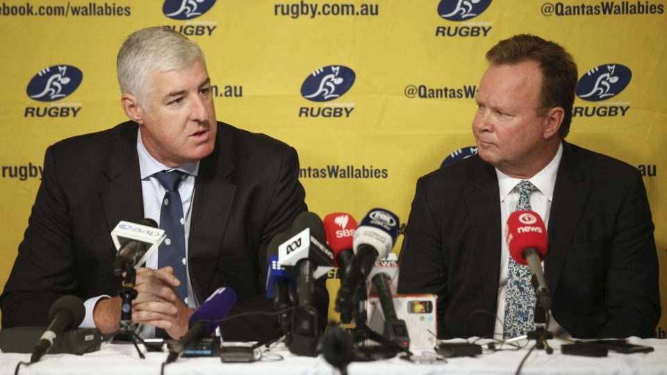 ARU chairman Cameron Clyne and CEO Bill Pulver say they've got a tough decision to make.