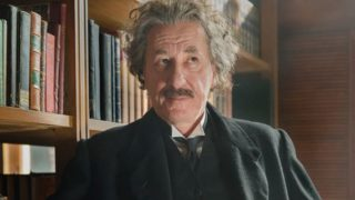 Geoffrey Rush plays the physicist whose sex drive moved faster than the speed of light in the new 10-part series Genius.