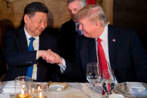 President Donald Trump had a recent meeting with Chinese President Xi Jinping.
