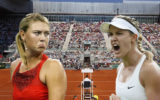 maria Sharapova and amelie bouchard composite