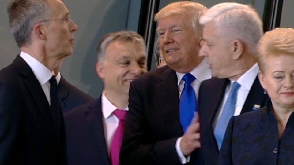 Twitterati explodes as Trump moves aside Montenegro PM
