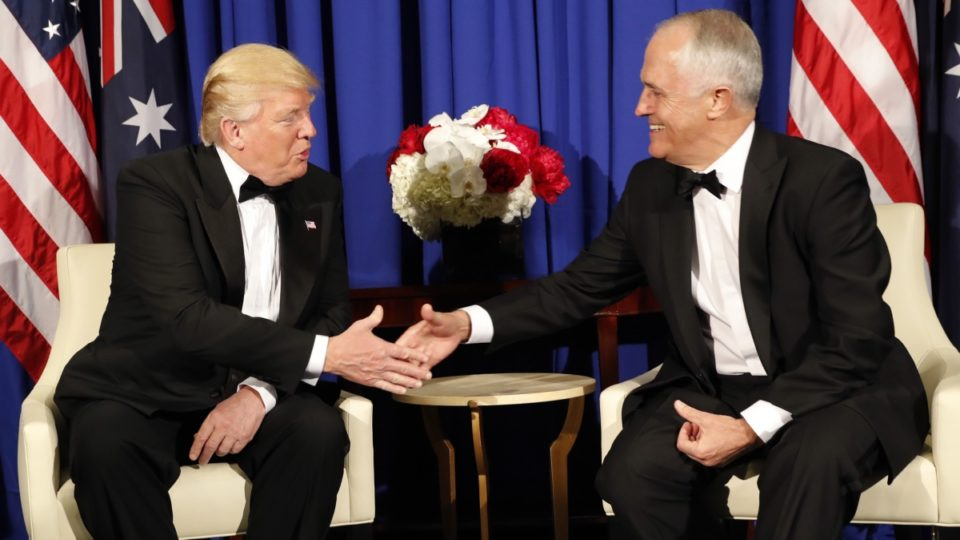 Trump says 'everybody', not just Australia, has better healthcare than US