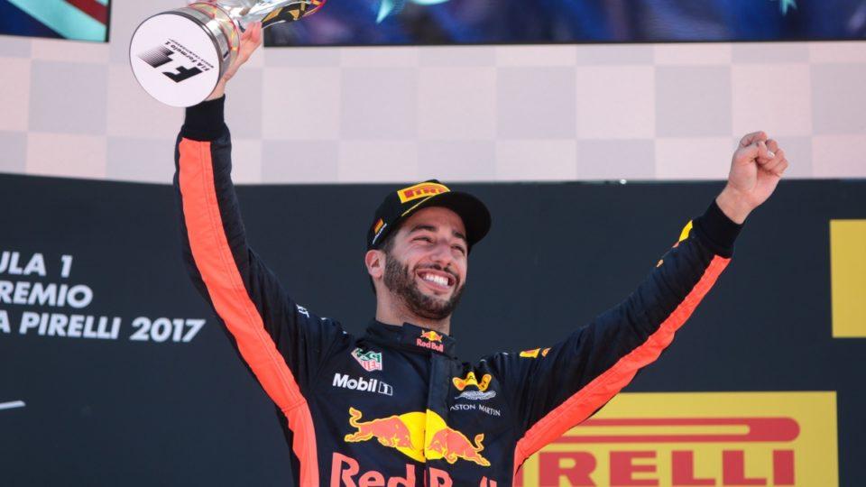 Daniel Ricciardo in Spain