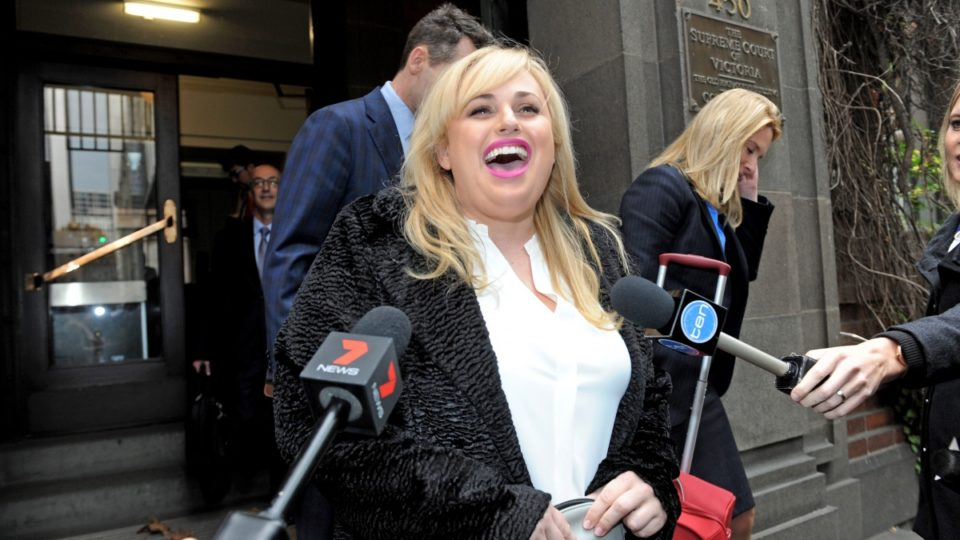 Rebel Wilson, Hollywood actress, returns to Melbourne to testify in defamation trial