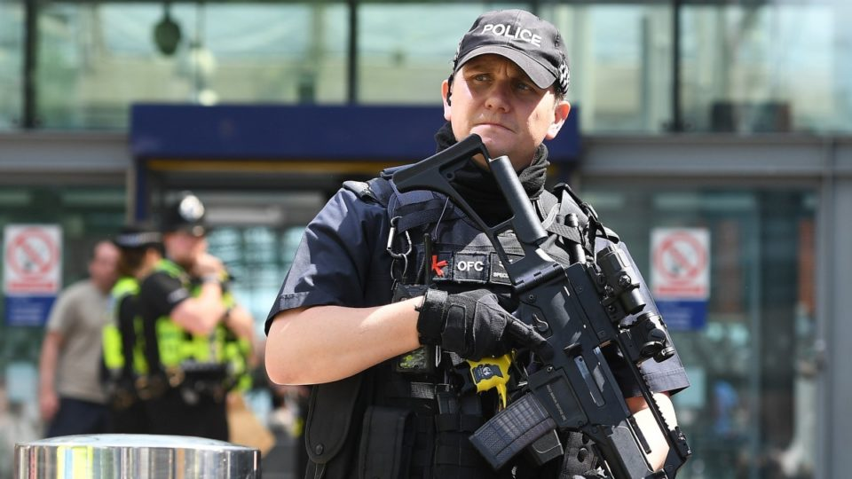 Police and Armed Forces Raid at Granby Row, Central Manchester