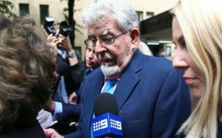 Rolf Harris leaves court