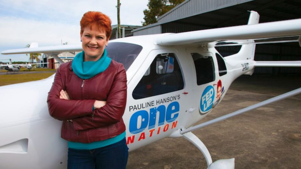 One Nation plane