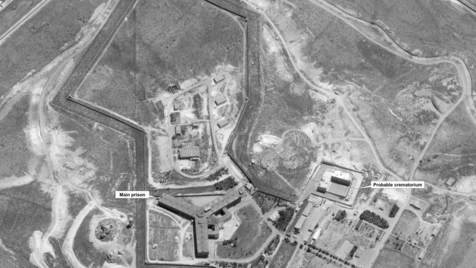 Syrian prison crematorium
