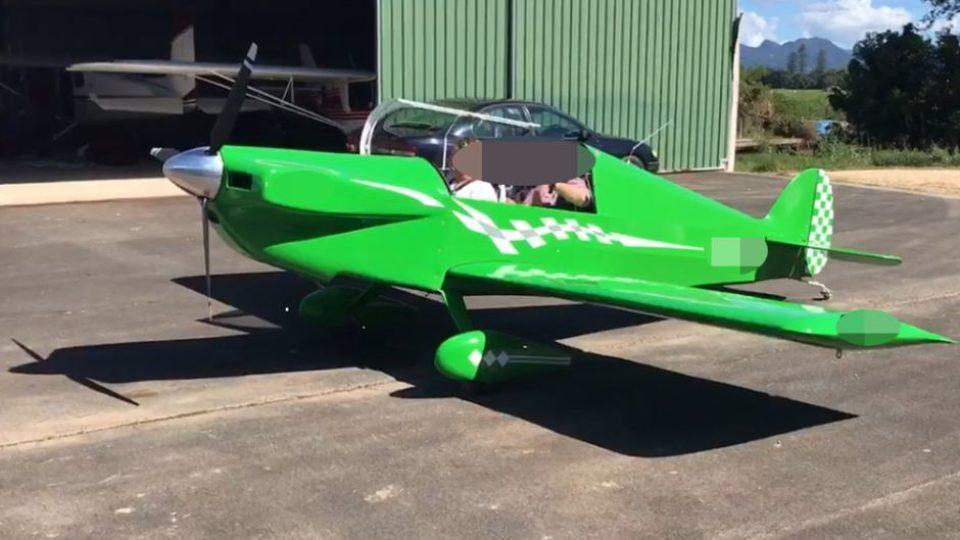 Pilot death plane
