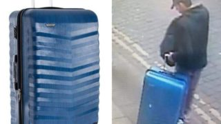 Manchester suitcase