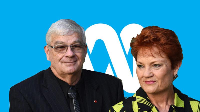 Brian Burston and Pauline Hanson