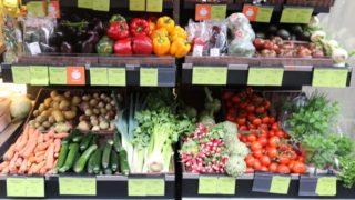 Fresh or frozen vegetables