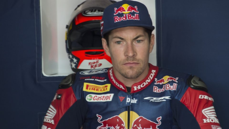 USA  racer Hayden still in