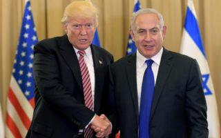 Donald Trump Benjamin Natanyahu