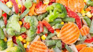 Fresh or frozen vegetables
