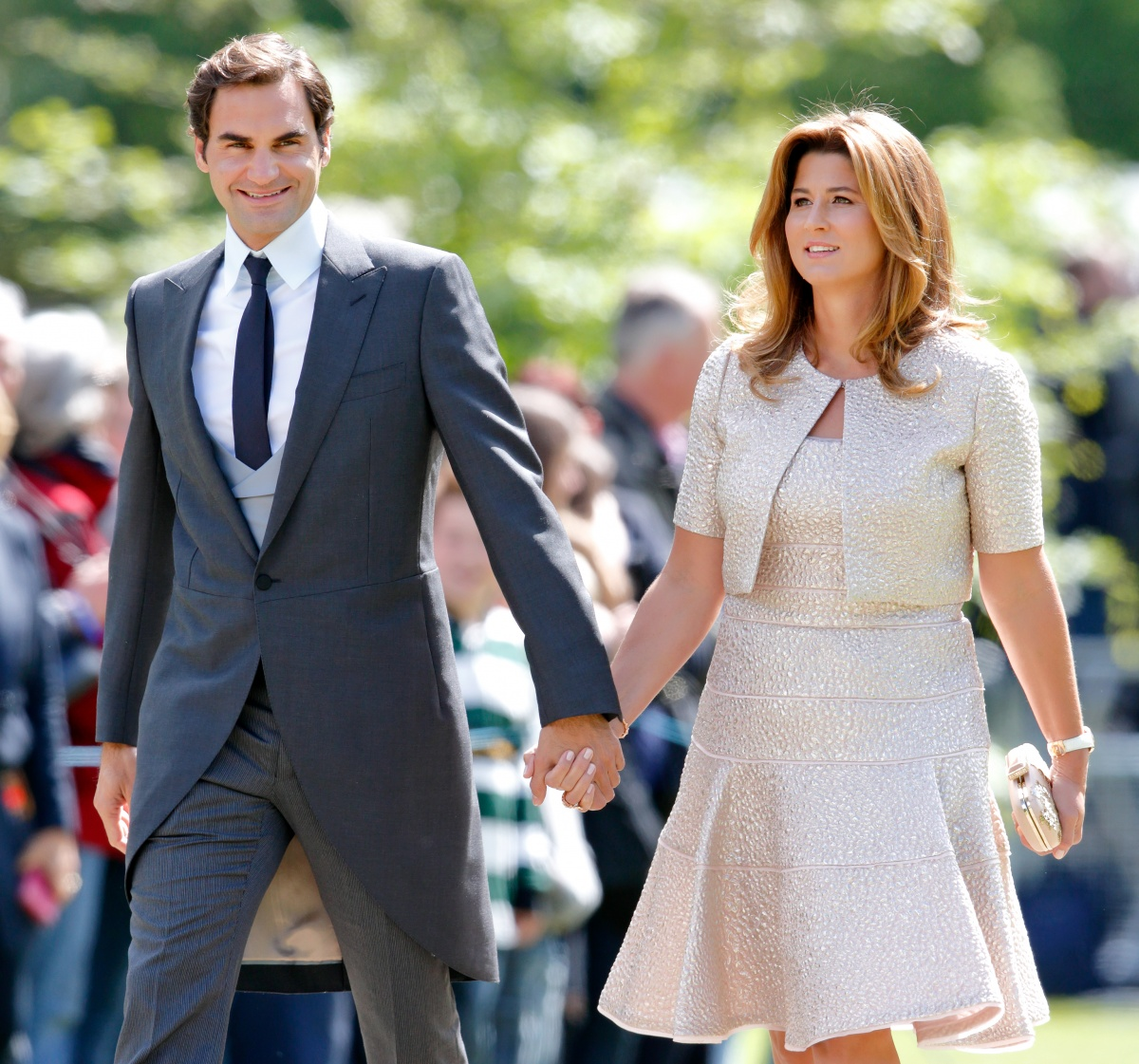 roger federer and mirka wedding wwwimgkidcom the