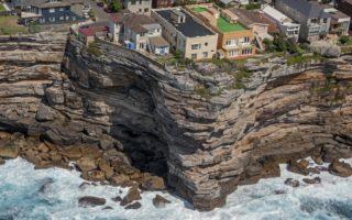 sydney houses cliff