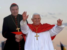 Cardinal Pell and Pope Benedict