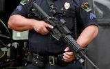 police M4 carbine