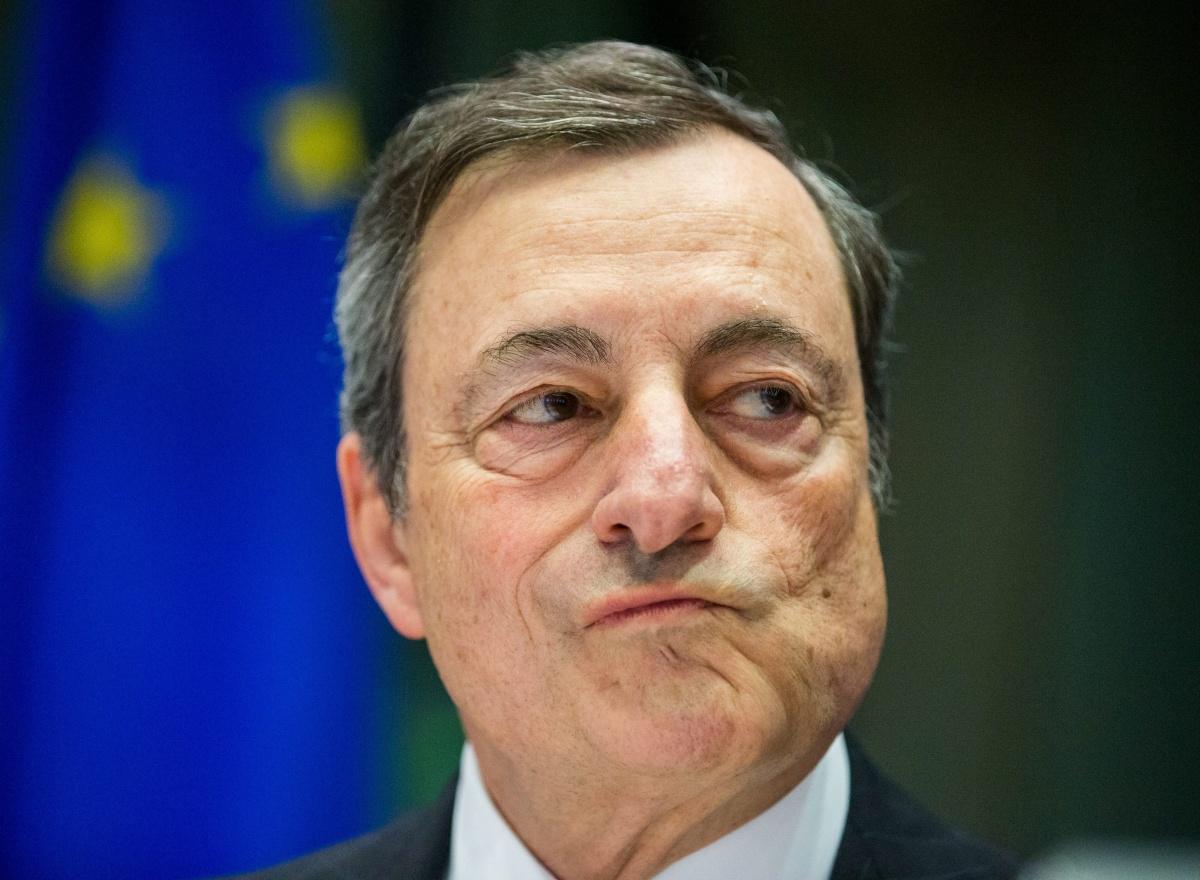 Mario Draghi bank