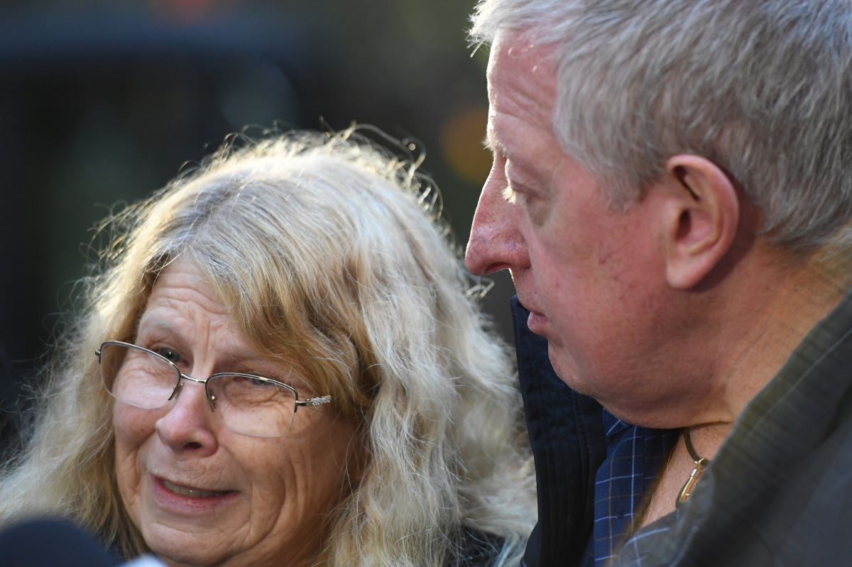 Matthew Leveson's parents Faye and Mark