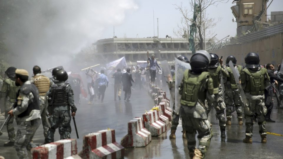 Authorities: Several demonstrators killed in Kabul protest