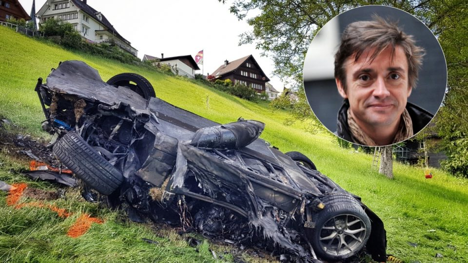 top gear 39 s richard hammond lucky to survive 39 frightening 39 crash. Black Bedroom Furniture Sets. Home Design Ideas